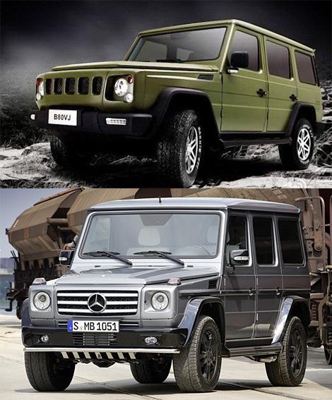 Компания BAIC подготовила к Пекинскому автосалону внедорожник, недвусмысленно напоминающий Mercedes Gelаndewagen