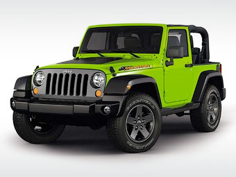 """У Jeep Wrangler появится """"горная"""" версия"""