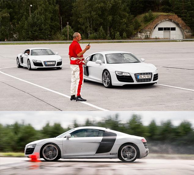 Примеряем на себя комбинезон пилота Audi R8 LMS. Фото 3