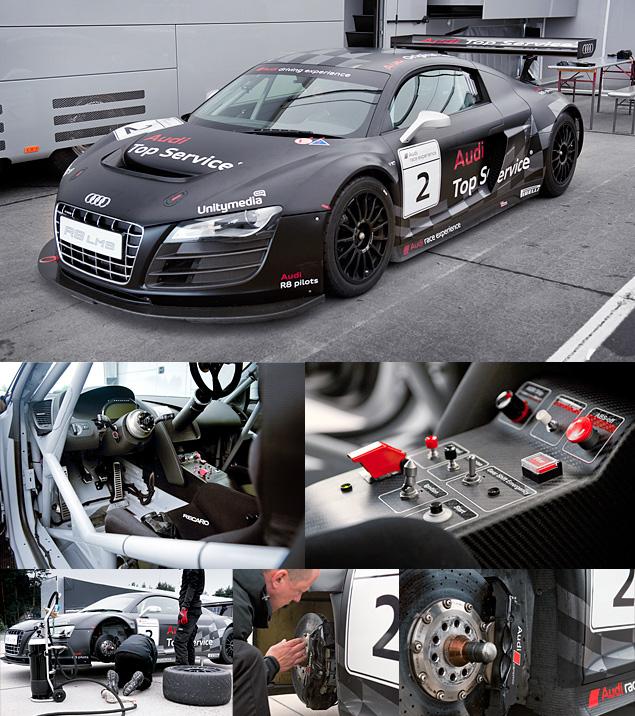 Примеряем на себя комбинезон пилота Audi R8 LMS. Фото 9