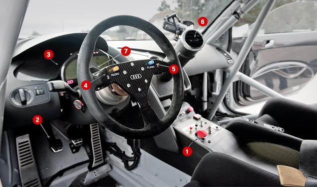 Примеряем на себя комбинезон пилота Audi R8 LMS. Фото 10
