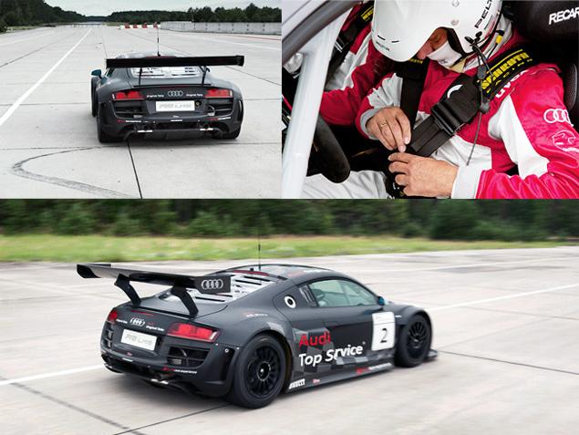 Примеряем на себя комбинезон пилота Audi R8 LMS. Фото 14