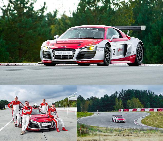 Примеряем на себя комбинезон пилота Audi R8 LMS. Фото 18