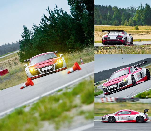 Примеряем на себя комбинезон пилота Audi R8 LMS. Фото 19