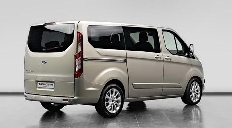 Компания Ford привезет на Женевский автосалон прототип фургона Transit следующего поколения. Фото 1