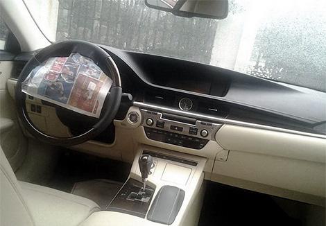 Серийный седан Lexus ES нового поколения будет представлен в апреле