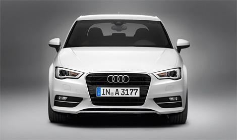 Фотографии Audi A3 нового поколения попали в сеть за две недели до официальной премьеры. Фото 1