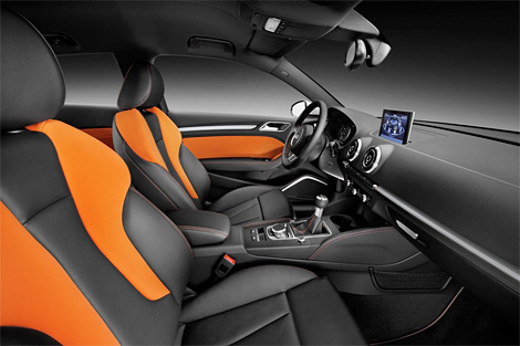 Фотографии Audi A3 нового поколения попали в сеть за две недели до официальной премьеры. Фото 3