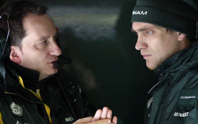 Первое интервью Петрова после перехода в Caterham. Фото 5