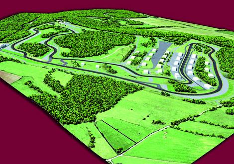 Завершается строительство новой 4,2-километровой гоночной трассы