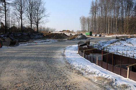 Завершается строительство новой 4,2-километровой гоночной трассы. Фото 2
