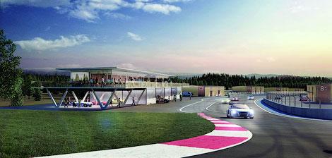 Завершается строительство новой 4,2-километровой гоночной трассы. Фото 3