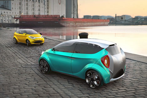 Началась разработка модульного автомобиля под названием SCI hyMod. Фото 2