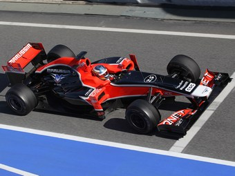 Новый болид команды Marussia провалил краш-тест