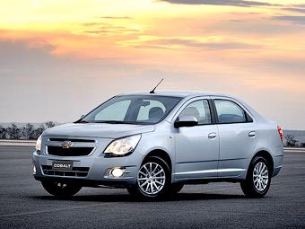 Бюджетный седан Chevrolet появится в России в 2013 году