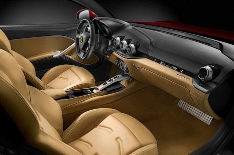 Новый флагман Ferrari получил 730-сильный 6,3-литровый мотор V12. Фото 4