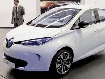 Renault готовит к дебюту компактный электрический хэтчбек
