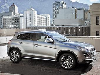 Продажи Peugeot 4008 начнутся в России 9 апреля