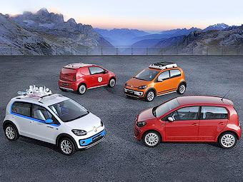 VW построил грузовую и экспедиционную версии компакт-кара up!