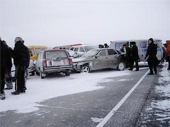В январе смертность на дорогах Москвы выросла на 60 процентов