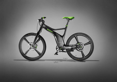 Ателье покажет на моторшоу тюнинговые версии хэтчбека ForTwo и велосипеда ebike. Фото 2