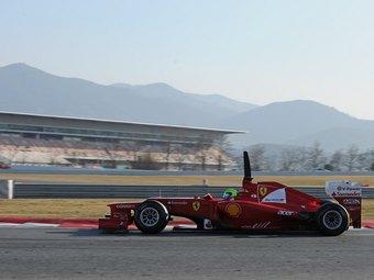 Эксперты отметили недостаток темпа у нового болида Scuderia Ferrari