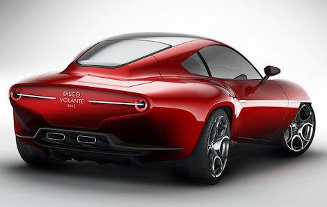 Ателье Carrozzeria Touring Superleggera представило концептуальный спорткар