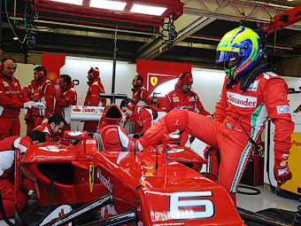 Команда Ferrari не сможет претендовать на подиумы в начале сезона