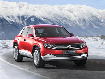 VW привезет в Женеву кроссовер с расходом 1,8 литра