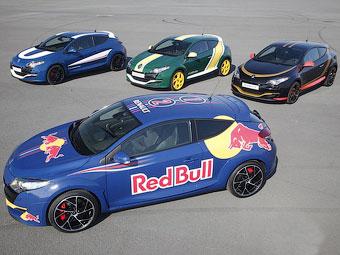"""Компания Renault раскрасила """"заряженные"""" хэтчбеки под болиды Формулы-1"""