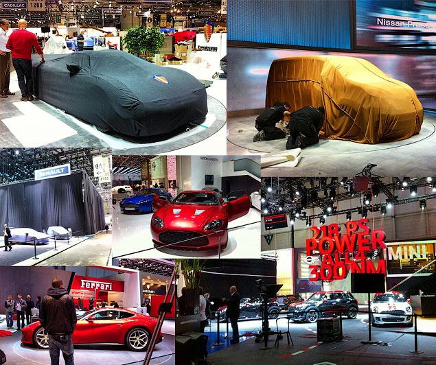 Прямой репортаж с автовыставки в Женеве. Фото 37