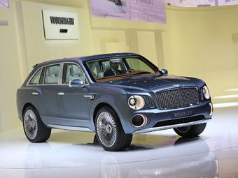 Bentley решит судьбу внедорожника после Женевы