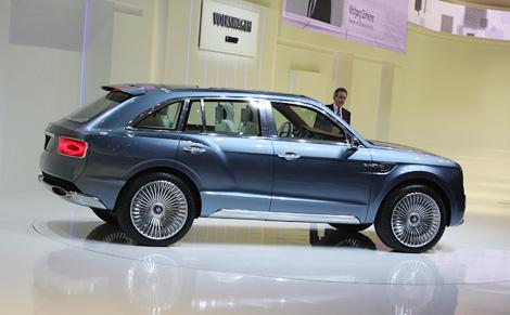 Компания Bentley представила почти готовый к серийному производству внедорожник
