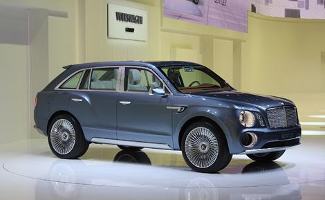 Компания Bentley представила почти готовый к серийному производству внедорожник. Фото 2
