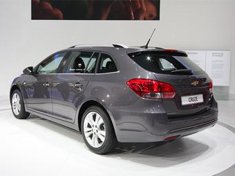 Универсал Chevrolet Cruze появится в России в ноябре
