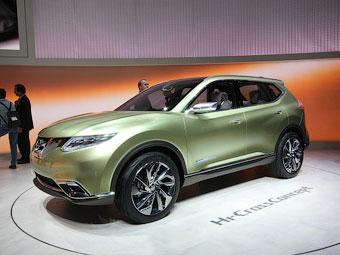 Nissan показал на Женевском концепте дизайн будущих кроссоверов