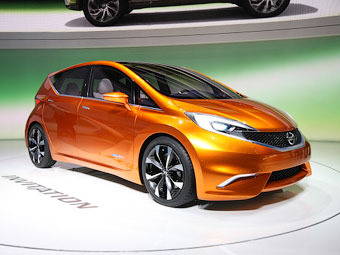 В Женеву привезли предтечу компактного хэтчбека Nissan