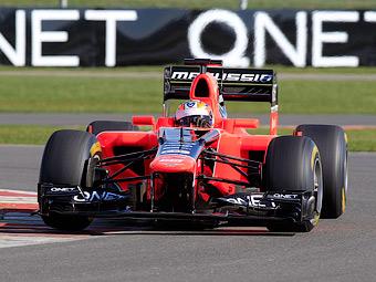 Болид Marussia прошел краш-тест после официальной презентации