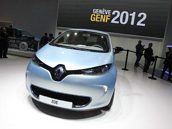 Электрокар Renault Zoe проедет без подзарядки 210 километров