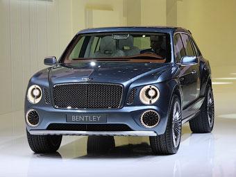 Bentley изменит дизайн Женевского внедорожника