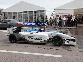 Формульный чемпионат по гонкам электромобилей стартует в 2014 году