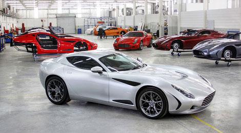 В Женеве представили 440-сильный спорткар, построенный вместе с Zagato