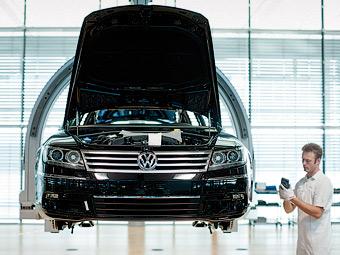Концерн VW увеличил прибыль в 1,6 раза