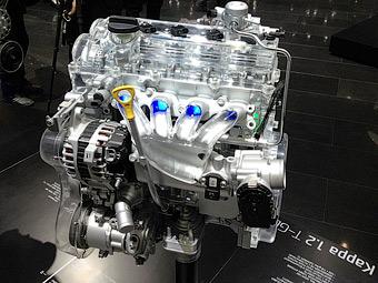 Компания Hyundai представила маленький турбомотор