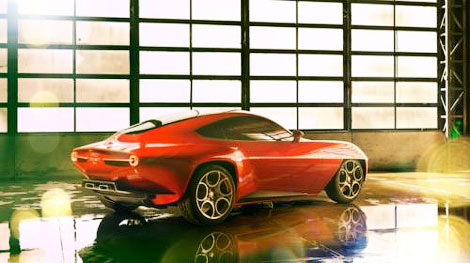 Купе на агрегатах спорткара Alfa Romeo 8C Competizione выпустят сверхмалым тиражом