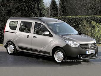 Dacia выпустит летом дешевый фургон