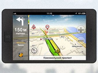 """""""Яндекс"""" представил бесплатную навигацию для смартфонов"""