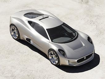 Суперкар Jaguar с газовыми микротурбинами сможет ездить только по треку