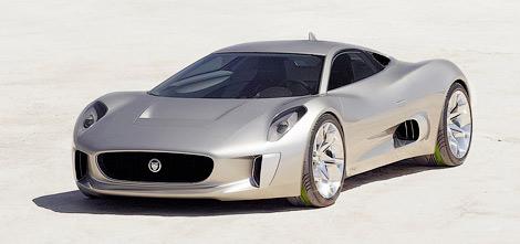 Компания Jaguar и команда Формулы-1 Williams продолжают разработку гибридного суперкара. Фото 1