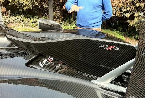 760-сильный автомобиль создан по спецзаказу в единственном экземпляре